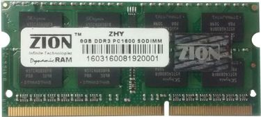 Zion (ZHY16008192N) 8GB DDR3 Laptop Ram Price in India