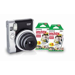 Fujifilm Instax Mini 90 Neo Classic Instant Camera (With 40 Shot Films) Price in India