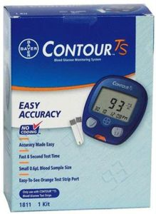 Bayer Contour TS Glucometer Price in India