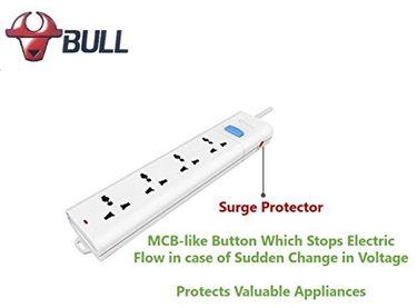Bull GNIN-S104Z 4 Way Extension Socket Price in India