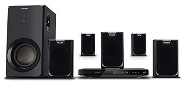 Philips HTD2520 DVD Home Theatre System Price in India
