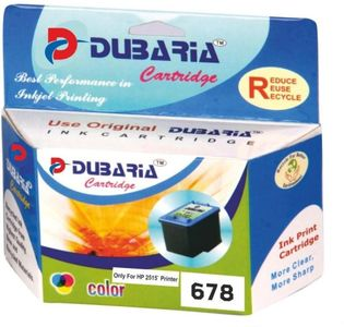 Dubaria 678 Tricolour Ink Cartridge Price in India