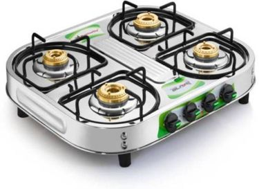 Butterfly Blaze Manual Ignition Gas Cooktop (4 Burner) Price in India