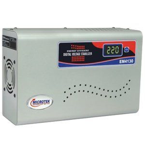 Microtek EM4130 Plus Digital Voltage Stabilizer Price in India