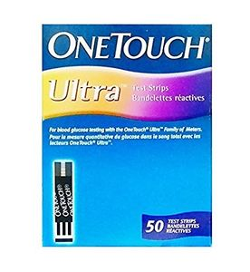 Johnson and Johnson One Touch Ultra Test Strips 50 Strips Only Price in India