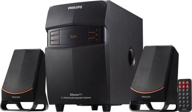Philips MMS2550F/94 2.1 Multimedia Speakers Price in India