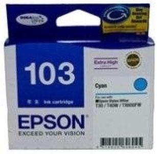 Epson 103 C13T103290 Cyan Ink Cartridge Price in India