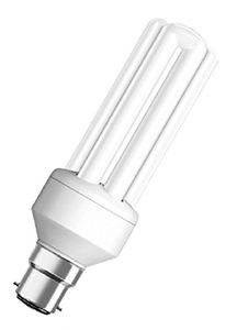 Osram 18W B22D Stick CFL Bulb (White, Pack of 2) Price in India