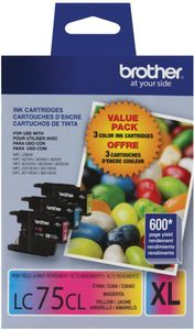 Brother Jet Series LC753PKS Multicolor Ink Cartridge Price in India