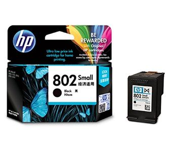 HP 802 Small Black Ink Cartridge Price in India