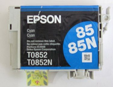 Epson 85N C13T122200 Cyan Ink Cartridge Price in India