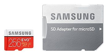 Samsung Evo Plus 256GB MicroSDXC Class 10 (95MB/s) Memory Card (With Adapter) Price in India