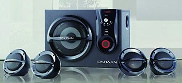 Oshaan CMPL 777 4.1 Multimedia Speaker Price in India