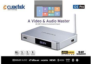 CUBETEK Himedia Q5 Pro 4K HDR Smart TV Box Price in India
