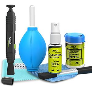 Gizga Essentials Professional Lens Pen & 6-in-1 Cleaning Kit & Professonal Wipes Price in India
