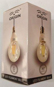 Origin 3W B22 LED Bulb (Yellow, Pack of 5) Price in India