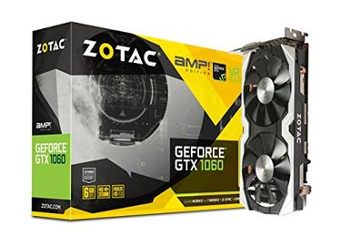 Zotac Geforce GTX 1060 (ZT-P10600B-10M) 6GB DDR5 Graphic Card Price in India