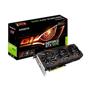 Gigabyte GeForce GTX 1070 G1 (GV-N1070G1 GAMING-8GD) 8GB GDDR5 Graphic Card Price in India