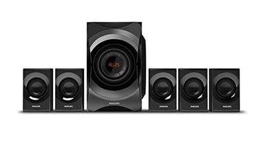 Philips SPA8000B/94 5.1 Multimedia Speaker System Price in India