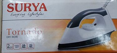 Surya Tornado 1000W Dry Iron Price in India