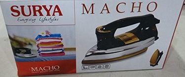 Surya Macho 1000W Dry Iron Price in India