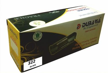 Dubaria 322 Black Toner Cartridge Price in India