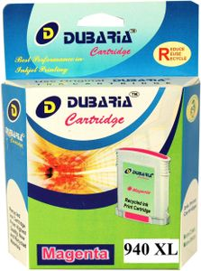 Dubaria 940xl / C4908aa Magenta Ink Cartridge Price in India