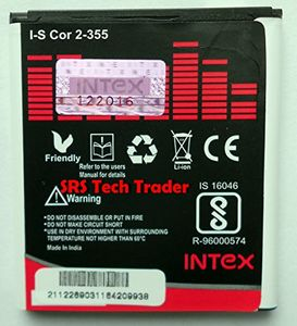 Intex 2000mAh Battery (For Samsung Galaxy Core 2) Price in India