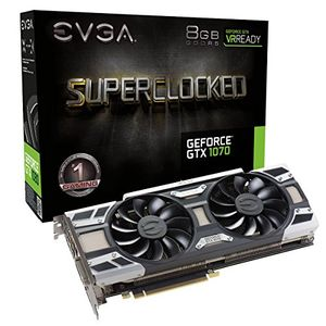 EVGA GeForce GTX 1070 SC GAMING ACX 3.0 (08G-P4-6173-KR) 8GB GDDR5 Graphics Card Price in India
