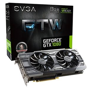 EVGA GeForce GTX 1080 FTW GAMING ACX 3.0 (08G-P4-6286-KR) 8GB GDDR5 Graphics Card Price in India