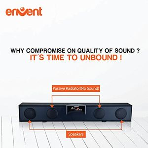 Envent Horizon 301 2.0 Soundbar Speaker Price in India