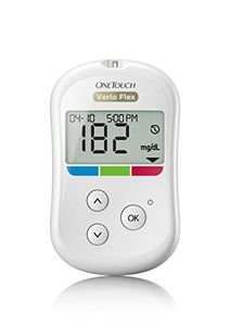 One Touch Verio Flex Glucometer With 10 Strips Price in India