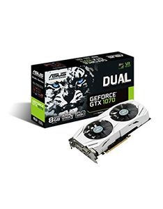 Asus Dual GeForce GTX 1070 (DUAL-GTX1070-8G) 8GB DDR5 Graphics Card Price in India