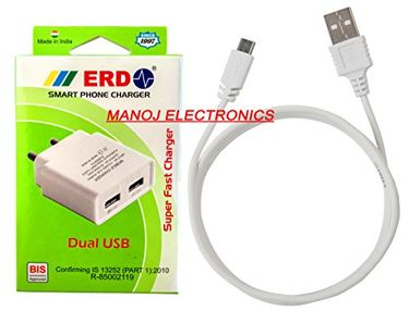 ERD TC-29 Dual USB Charger Price in India