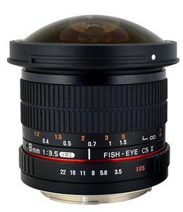 Rokinon HD8M-P 8mm f/3.5 HD Fisheye Lens (For Pentax) Price in India