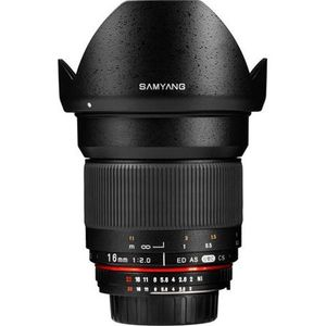 Samyang SY16M-M 16mm f/2.0 Aspherical Wide Angle Lens (For Canon M) Price in India