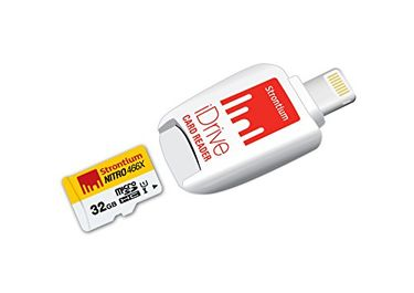 Strontium Nitro 466X 32GB MicroSDHC Class 10 (70MB/s) Memory Card (With iDrive Card Reader) Price in India