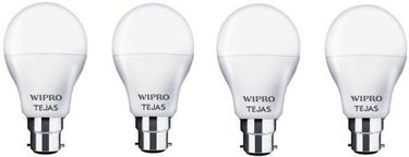 Wipro Tejas 9W B22 LED Bulb (Cool Day Light, Pack Of 4) Price in India