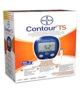 Bayer Contour TS Gluco Monitor With 25 Strips Price in India