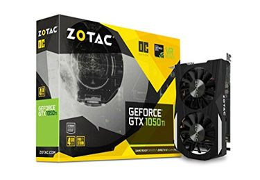 Zotac GeForce GTX 1050 Ti OC Edition (ZT-P10510B-10L) 4GB GDDR5 Graphics Card Price in India
