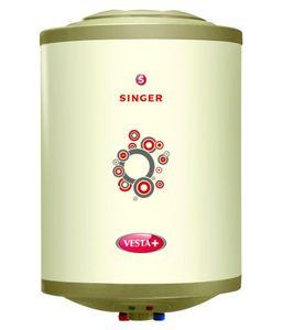Singer Vesta Plus 15L Storage Water Geyser Price in India
