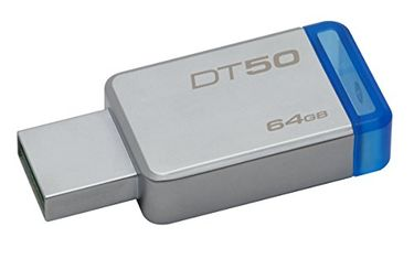 Kingston DataTraveler 50 (DT50) 64GB USB 3.1 Pendrive Price in India