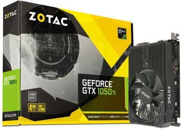 Zotac GEFORCE GTX 1050 TI MINI (ZT-P10510A-10L) 4GB GDDR5 Graphics Card Price in India