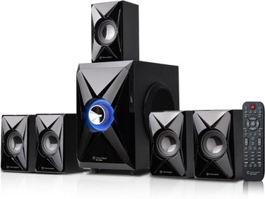 Truvison SE-5065 5.1 Multimedia Speaker System Price in India