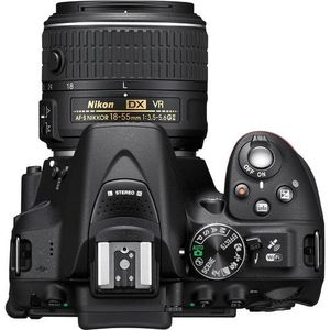 Nikon D5300 DSLR (With AF-P DX Nikkor 18 -55mm f/3.5 - 5.6G VR & 70 - 300mm f/4.5 - 6.3G ED VR Lens) Price in India