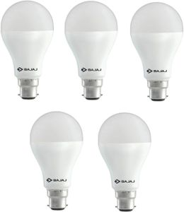 Bajaj 18W B22 LED Bulb (Cool Day light, Pack of 5) Price in India