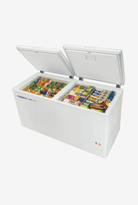 Voltas 500 L Metal Top Double Door Deep Freezer Price in India