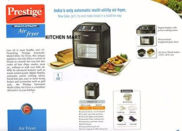 Prestige PMAF 1.0 Automatic Multi-Utility Air Fryer Price in India