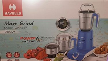 Havells Maxx Grind 750W Mixer Grinder (3 Jars) Price in India