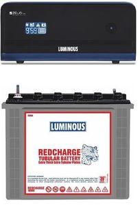 Luminous Zelio1100 900VA Inverter (With RC 18000 Tubular Battery) Price in India